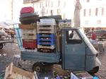 Wee, three-wheeled cart