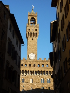 Palazzo Vecchio - the town hall - construction began in 1299
