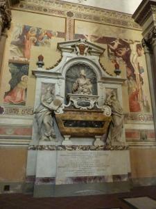 Basilica di Santa Croce - Galileo's tomb