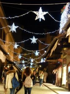 Ponte Vecchio Christmas decorations