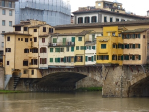 Ponte Vecchio from the Oltrarno (south side of the river)