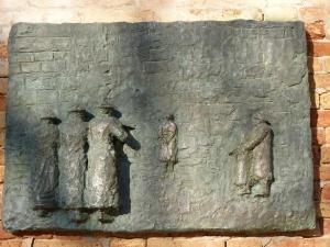 Cannaregio - Holocaust sculpture