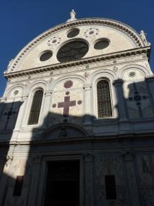 Cannaregio - Detail of Santa Maria dei Miracoli