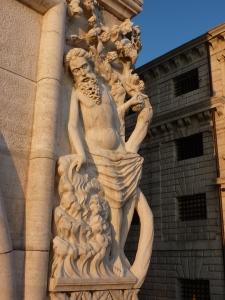 Statue near the Bridge of Sighs
