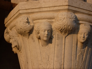 Detail of Doge's Palace column