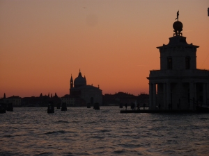 Sunset from the Doge's Palace
