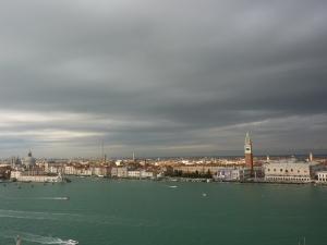 Venice from San Giorgio Maggiore - Doge's Palace on the far right