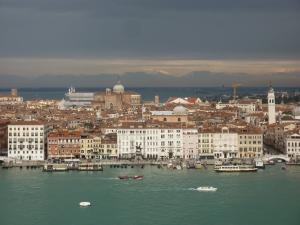 San Giorgio Maggiore - looking north from the campanile