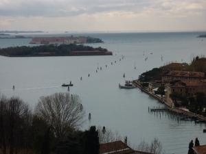 San Giorgio Maggiore - looking south from the campanile