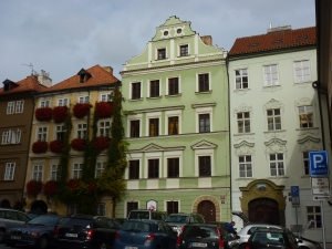 Typical buildings in Malá Strana