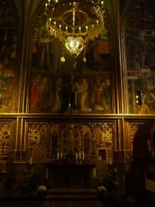 Prague Castle - Chapel inside St. Vitus Cathedral