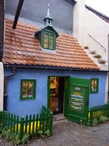 Prague Castle - Shop on Golden Lane