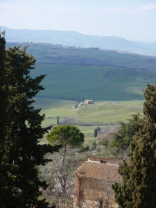 Val d'Orcia from Pienza
