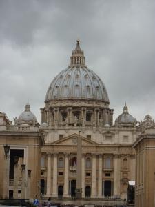 St. Peter's from Via della Concilazione - March 12, 2013