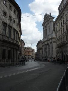 Empty Corsa Vittorio Emanuelle