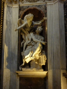 """The Prophet Habbakuk,"" by Bernini (around 1655)"