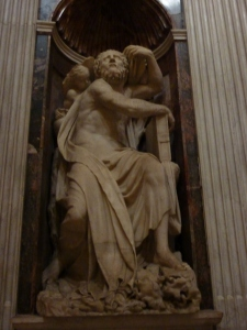 """The Prophet Elijah,"" by Raffaello da Montelupo (1522)"