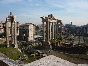 View of the Forum from Capitoline Hill
