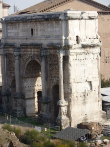 Arch of Septimius Severus (203 AD)