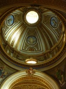 Sant'Antonio dei Portoghesi - inside the dome