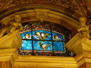 Sant'Antonio dei Portoghesi - stained glass window