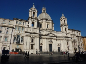 """Sant'Agnese in Agone (""""agone"""" means games and comes from the piazza's old stadium days)"""