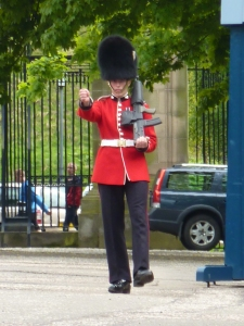 Palace of Holyroodhouse guard