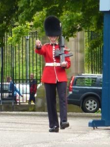 Palace of Holyroodhouse guard