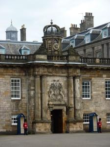 Palace of Holyroodhouse entrance