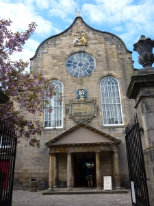 Entrance to Canongate Kirk