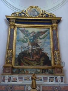 Duomo - St. Michael vanquishing satan (we always take photos of St. Michael, of course)
