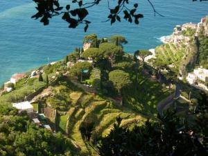 Villa Cimbrone - view from Mercury's Seat