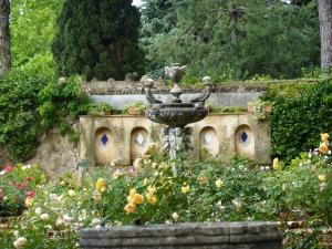 Villa Cimbrone - view from the tea room