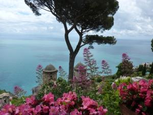 Villa Rufolo - view from the garden