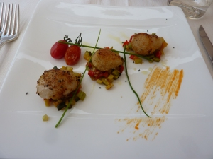 Scallops at Teodorico Re
