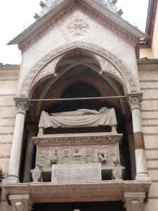 The tomb of Big Dog (CanGrande I) Scaligeri