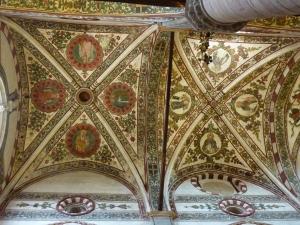 Sant'Anastasia - ceiling