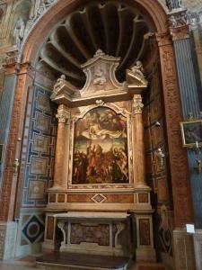 Duomo - Dionisi Chapel - altarpiece by Antonio Balestra (1711)