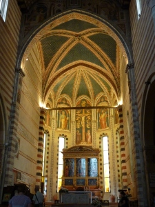 San Zeno - looking from the nave into the sanctuary