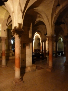 San Zeno - crypt - the remains of St. Zeno are preserved here