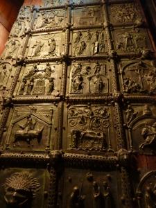San Zeno - spectacular bronze doors