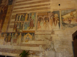 San Zeno - 13th-14th century frescoes
