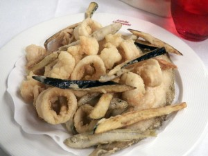 Antiche Carampane - Charlie's frito misto (photo by C. Gehringer)