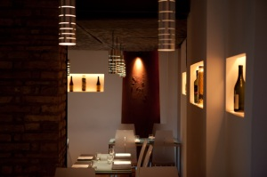 Upstairs at Glass (photo from the Glass website)