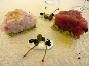 This and the photos below are from Linea d'Ombra. This is my antipasto.
