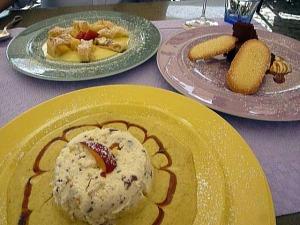 Dessert at Il Giglio d'Oro