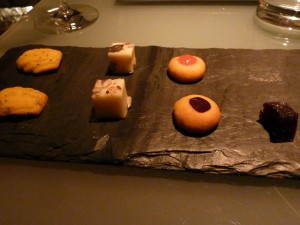 Petit fours, in case we hadn't eaten enough!