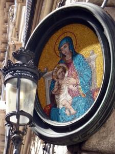 On Corso Vittorio Emanuele - near Piazza Venezia