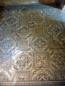 The geometrical floors were so restful after the frantic activity of the other floors.