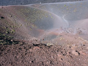 Walking around one of the Silvestri Craters